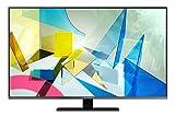 Samsung TV QE50Q80TATXZT Smart TV 50', Serie Q80T QLED, 4K, Wi-Fi, Classe di Efficienza Energetica B, 2020, Titan Black