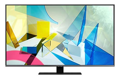 Samsung TV QE50Q80TATXZT Smart TV 50 , Serie Q80T QLED, 4K, Wi-Fi, con Alexa integrata, 2020, Titan Black
