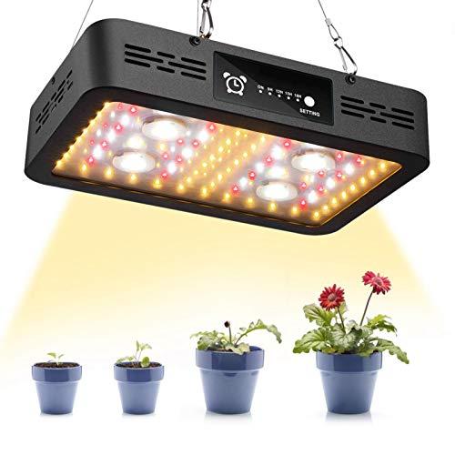 Oreilet Luz de Crecimiento, lámpara de Crecimiento, 1200 W para Plantas, Flores