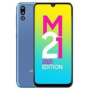 Samsung Galaxy M21 2021 Edition (Arctic Blue, 4GB RAM, 64GB Storage) | FHD+ sAMOLED | 6 Months Free Screen Replacement…
