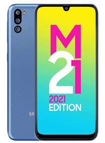 Samsung Galaxy M21 2021 Edition (Arctic Blue, 6GB RAM, 128GB Storage) | FHD+ sAMOLED | 6 Months Free Screen Replacement…