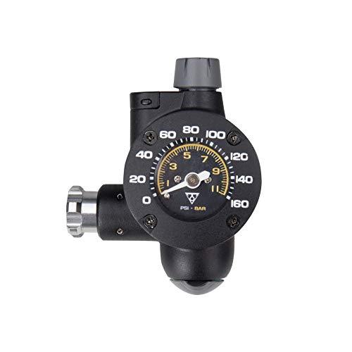 TOPEAK Co2 Airbooster Pump, Schwarz, 6.5 x 5.2 x 3.3 cm