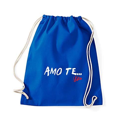 Art T-shirts, Backpack Bag I Love You Vasco Gym Bag - Blue - One size
