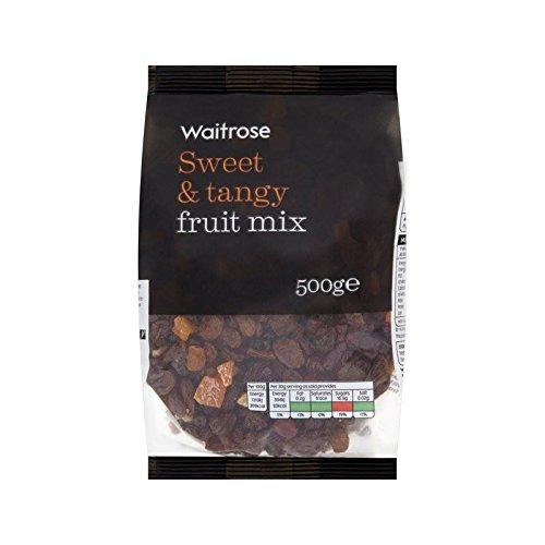 Getrocknet Mischfrucht Mit Cranberry, Aprikose Und Ananas Waitrose 500G - Packung mit 6