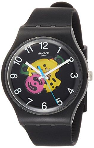 Swatch Orologio Analogico Quarzo Uomo con Cinturino in Silicone SUOB140