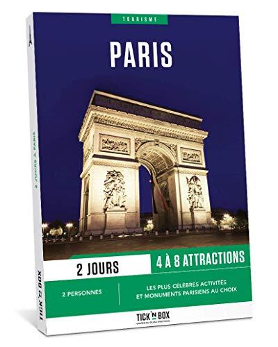 Tick&Box Geschenkset Tourismus, 2 Tage in Paris