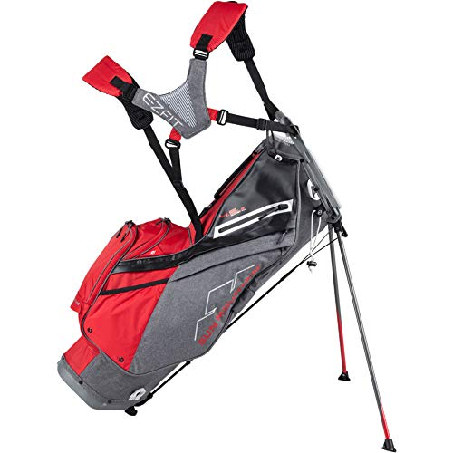2020 Sun Mountain 4.5 LS 14-Way Stand Bag - Carbon/Red