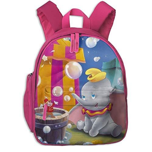 Lindas Mochilas Escolares Dumbo para niñas, niños, niños, Bolsas de Escuela Primaria, Mochila, Mochila de Viaje al Aire Libre