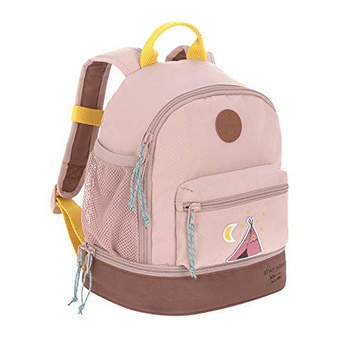 LÄSSIG Kinderrucksack mit Brustgurt Kindergartentasche Kindergartenrucksack / Mini Backpack, Adventure Tipi, 27 cm, 5 L