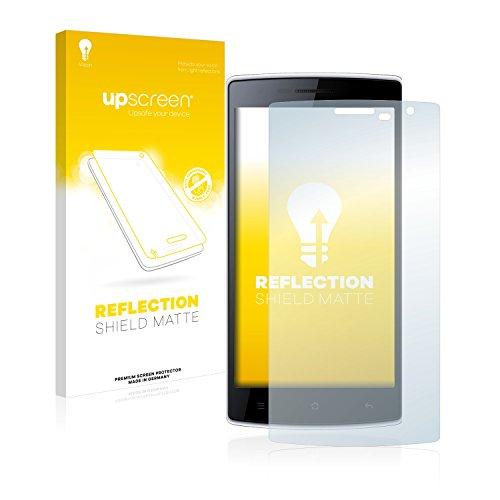 upscreen Entspiegelungs-Schutzfolie kompatibel mit Doogee Kissme DG580 – Anti-Reflex Bildschirmschutz-Folie Matt