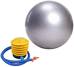65cm Exercise Fitness Aerobic Ball for GYM Yoga Pilates Pregnancy Birthing Swiss Silver