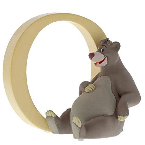 """ディズニー エンチャンテッドコレクション AからZ ディズニーアルファベットフィギュア """"O"""" - Baloo"""