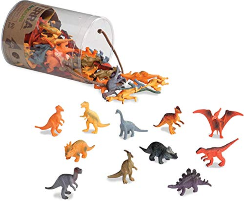 Terra by Battat – Dinosaurs – Assorted Miniature Dinosaur Toy Figures For Kids 3+ (60 Pc), 2'