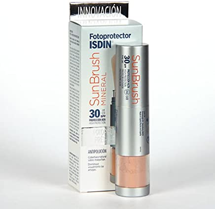 ISDIN SUNBRUSH MINERAL SPF30 NATURAL COVERAGE OVER MAKE UP Skin Beauty Gift