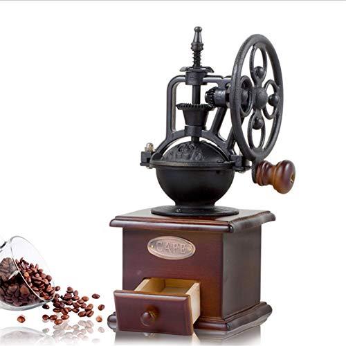 Bureau Moulin à café manuel Moulin à poivre en céramique avec moulin à café Graines de noix