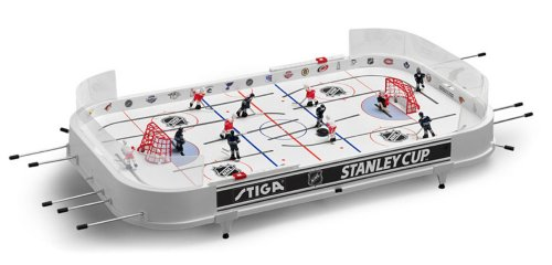 Stiga Sports NHL Stanley Cup Rod Hockey Table Game - New York Islanders & New York Rangers