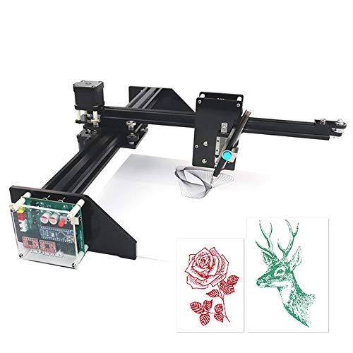 InLoveArts robot de dibujo de metal Escritor Plotter XY Kit de robot de escritura a mano Robot de dibujo de dibujo automático Pluma de trazo Humanoid Escritura a mano Compatible con 2500