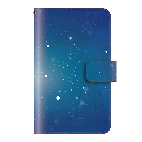 +S iPod touch 第5・第6・第7世代 手帳型ケース 宇宙 スペース space スター 星 スターリースカイ PUレザー mud0023-01
