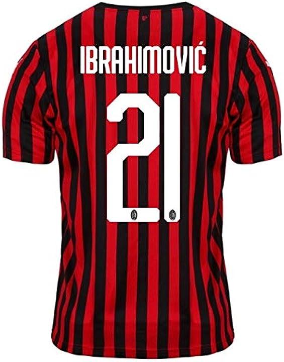 puma ac milan, maglia calcio uomo  ibrahimovic b08446hf27