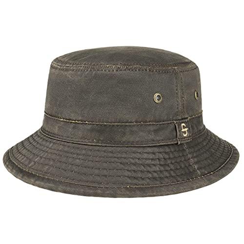 Stetson Sombrero de Tela Drasco Hombre - Pescador moldeable...