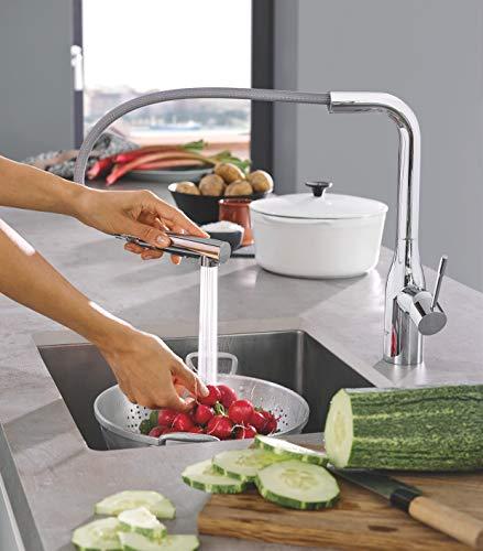 Grohe – Essence Küchenarmatur mit herausziehbarer Spülbrause - 8