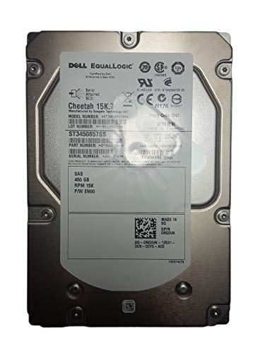 "Dell Equallogic 600GB 15k SAS 3.5/"" LFF Spare with tray for PS4000XV PS4000"