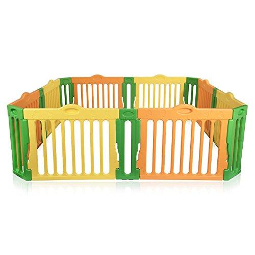 Baby Vivo Box per Bambini Sicurezza Barriera Pieghevole...