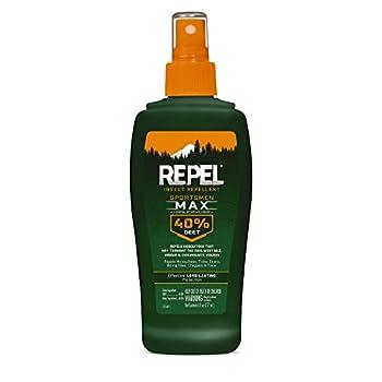 Repel 94101 HG-94101 Bee Sportsmen Max Formula Spray Pump 40% DEET 6 fl oz 6 oz - 1 Count