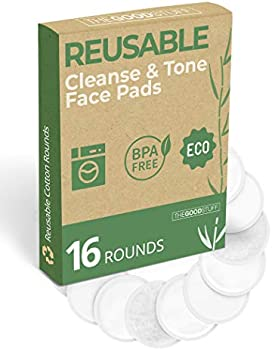 The Good Stuff Reusable Cotton Pads Gentle on Skin, Kind on the Planet