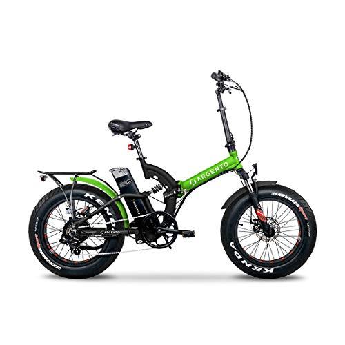 Argento Bike - BIMAX-S Metal Green 2020 (E-Bike Pieghevole).