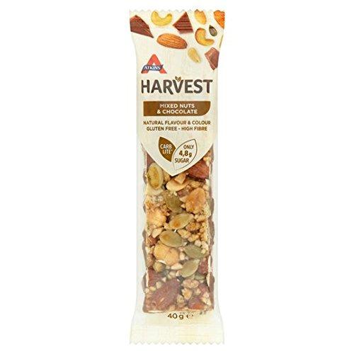 Atkins Harvest Mixed Nuts & Chocolate Bar 40g