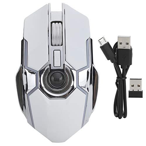 Mouse Streamer Wireless, Gaming Computadora Recargable Accesorios para computadora...