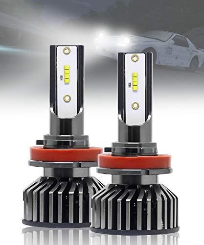 Fabtec Max5 H8/H11/H16 CREE LED Fog Light Bulb Super Bright White Plug & Play Bulbs for Cars (50W/10000LM/6000K)