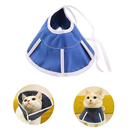 ASOCEA Verstellbare Pet cone3 Weiches Katzen Hunde Recovery Halsband für anti-biting Lick Wundheilung Fellpflege Medikamente