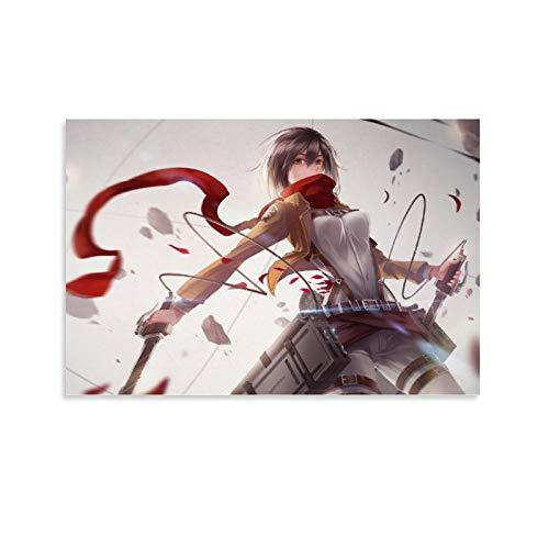 STTYE Poster artistico de Attack on Titan, impresion universitaria, decoracion de habitacion de 30 x 45 cm
