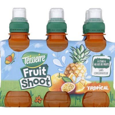 SHOOT fruit shoot tropical - Les 6 bouteilles de 20cl