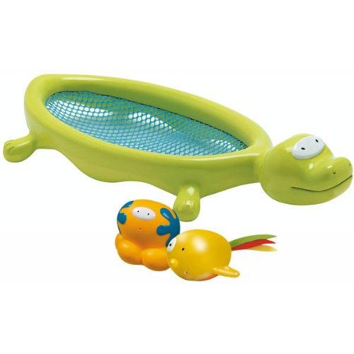 Bébé Confort Une épuisette et deux poissons arroseurs de bain