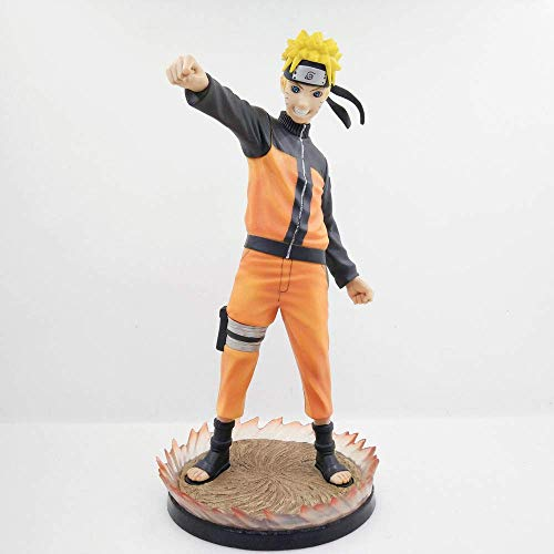 Naruto Anime Naruto Uzumaki Figura Muñecas Decoración Versión Premium Estatua Muñeca Escultura Juguete Decoración Modelo Muñeca Altura 26cm DSB