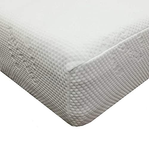 venixsoft Coprimaterasso Elasticizzato con Trattamento Antiacaro, Bianco, Matrimoniale 160-170 cm x 190-195-200 cm