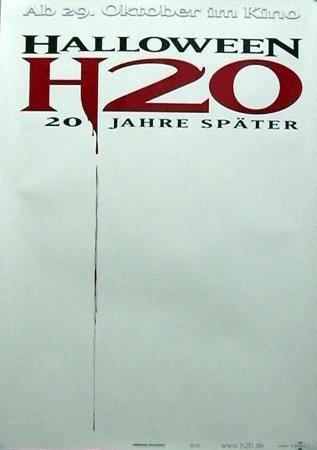 Halloween H20: Teaser (1998) | original Filmplakat, Poster [Din A1, 59 x 84 cm]