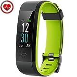 YAMAY Orologio Fitness Tracker Cardiofrequenzimetro da Polso Smartwatch Android iOS Uomo Donna...