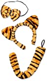 Forum Novelties Women's Tiger Accessory Kit, Multi, One Size