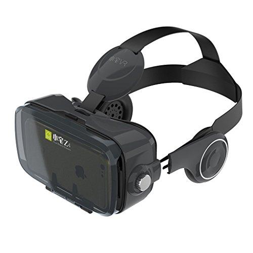 Vr Machine Jeux de réalité virtuelle Lunettes 3D intelligentes Casque Casque Intégré Audiovisuel ( Color : Blanc )