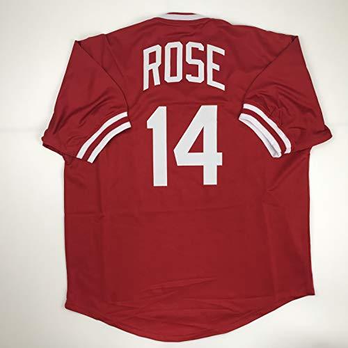 Unsigned Pete Rose Cincinnati Red Custom Stitched Baseball Jersey Size Men's XL New No Brands/Logos