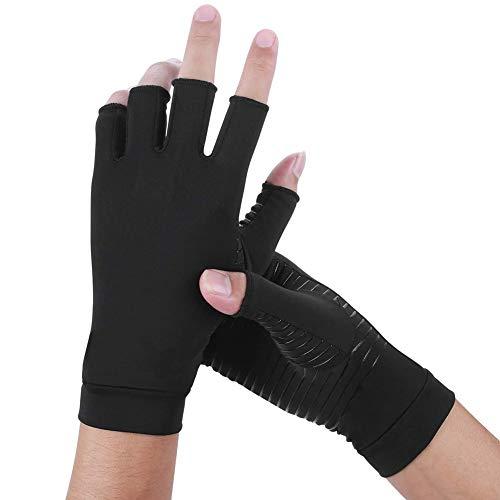 Kupfer Arthritis Handschuhe,die besten Kompressionshandschuhe für RSI,Männer und Frauen,Karpaltunnel, Rheumatoide,Sehnenentzündung,Kompressionshandschuhe für die tägliche Arbeit