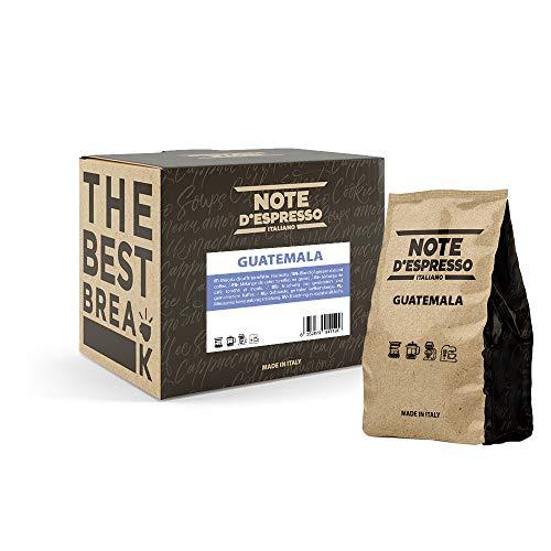 Note D'Espresso Guatemala Polvere Monorigine per Caffè all'Americana, in Busta Morbida, 250 g x 4 Confezioni