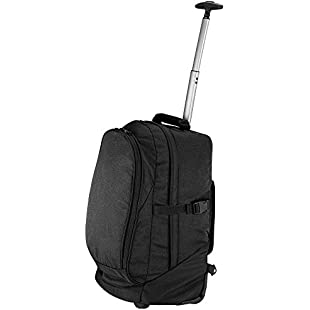 Quadra Unisex Adults Vessel Heavy Duty Airporter Travel Bag Black One Size