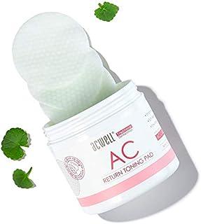 ACWELL AC Returning Toning Pad, Premium Cotton Pads(50ea), Skin Texture Improvement, Centella Asiatica Extract