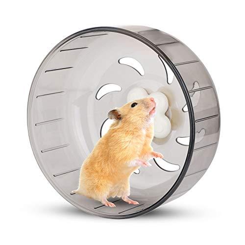 YOUTHINK Hamster Running Wheel, 13Cm Hamster Wheel Small Pet Hamster Rueda de Ejercicio Silent Plastic Running Toy para Animales Pequeños Hamster Gerbil Conejillo de Indias