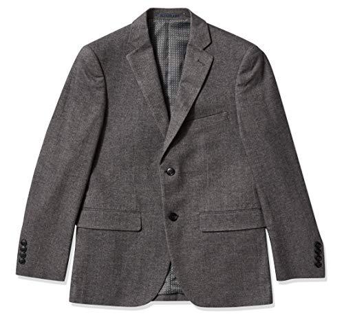 Tommy Hilfiger Men's Modern Fit Stretch Comfort Blazer, Dark Navy Weave, 36 Short